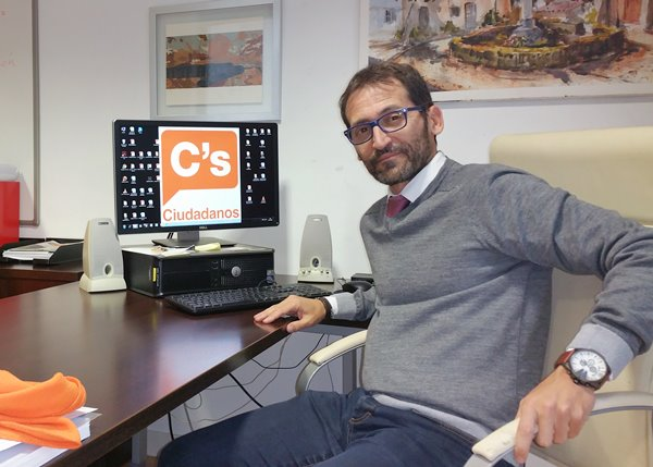 Ricardo Diaz Martin portavoz de Ciudadanos en el Ayuntamiento de Boadilla del Monte