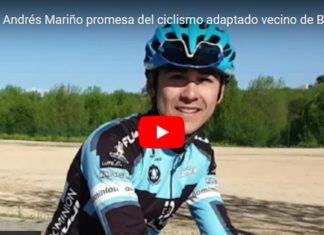 Jaime Andres Mariño promesa del ciclismo adaptado vecino de Boadila del monte